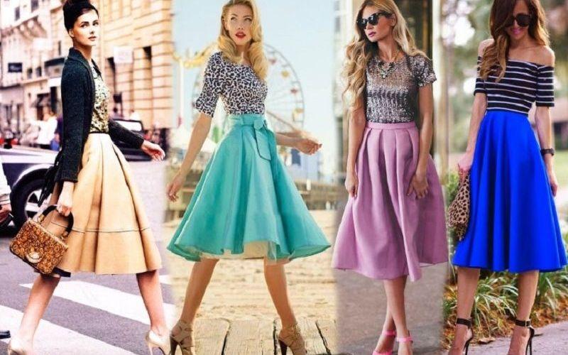Юбка солнце: модный и универсальный элемент гардероба